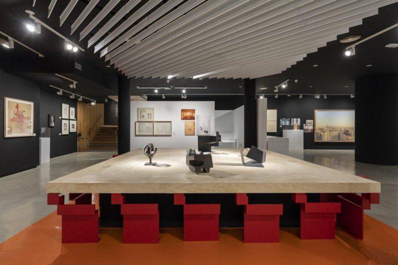 Sáenz de Oíza. Artes y oficios. Arquitectura y arte en el Museo ICO de Madrid