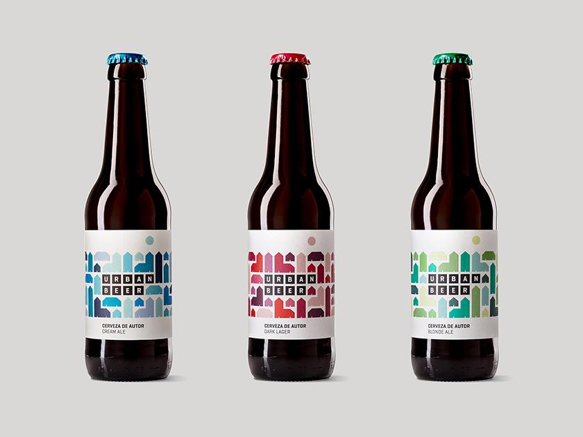 La caja de tipos desarrolla el branding y el packaging de Urbanbeer. Diseñar una cerveza de autor