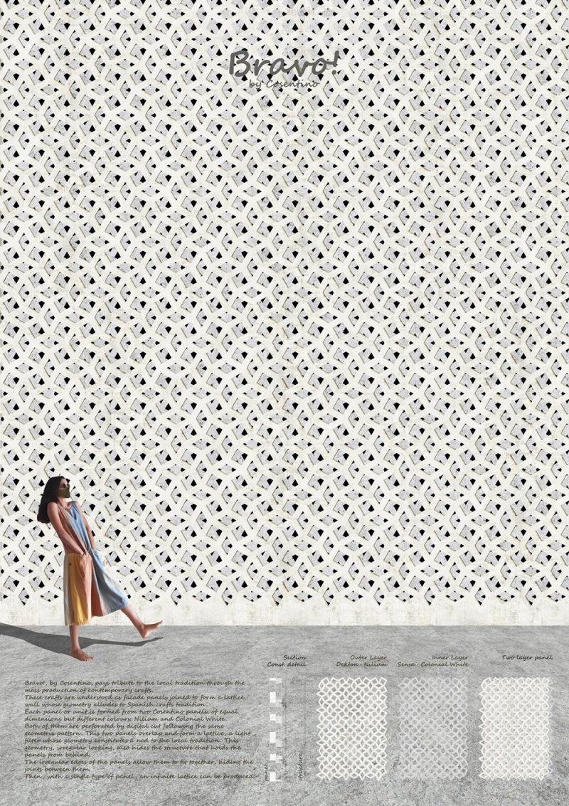 Bravo! de Teresa Martínez López (Escuela Técnica Superior de Arquitectura de Madrid, ETSAM, España)