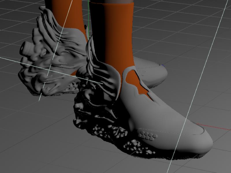 Diseño de calzado 3D: las disruptoras propuestas de Zixiong Wei