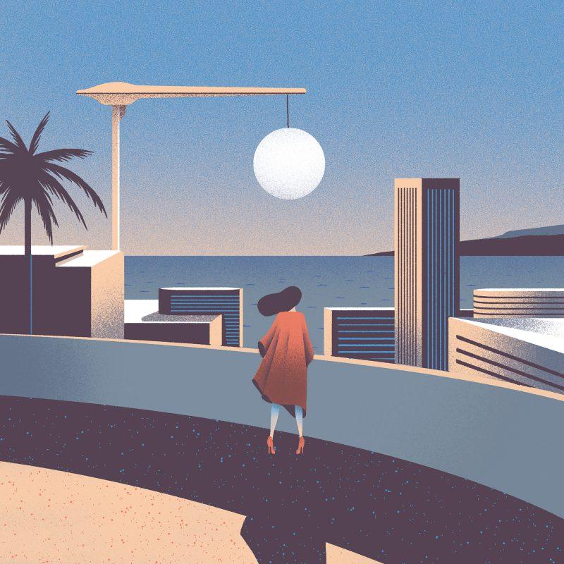 Glamour y nostalgia en las ilustraciones de Sébastien Plassard
