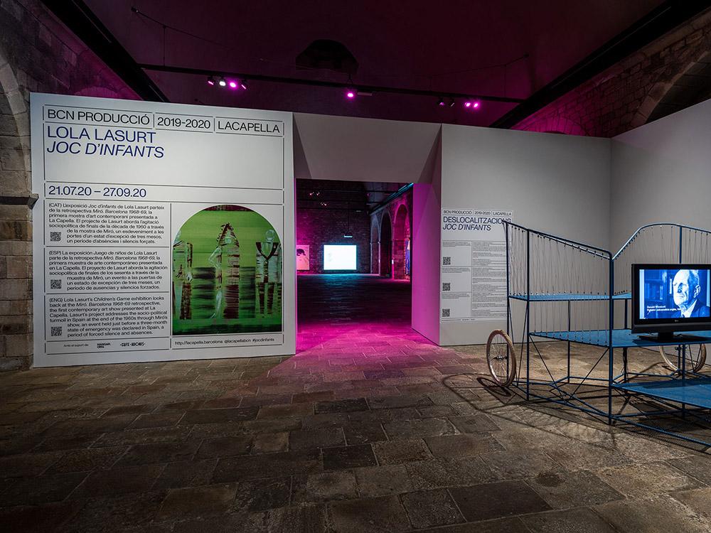 Juego de niños: Joan Miró en La Capella de Barcelona. Un experimento en color