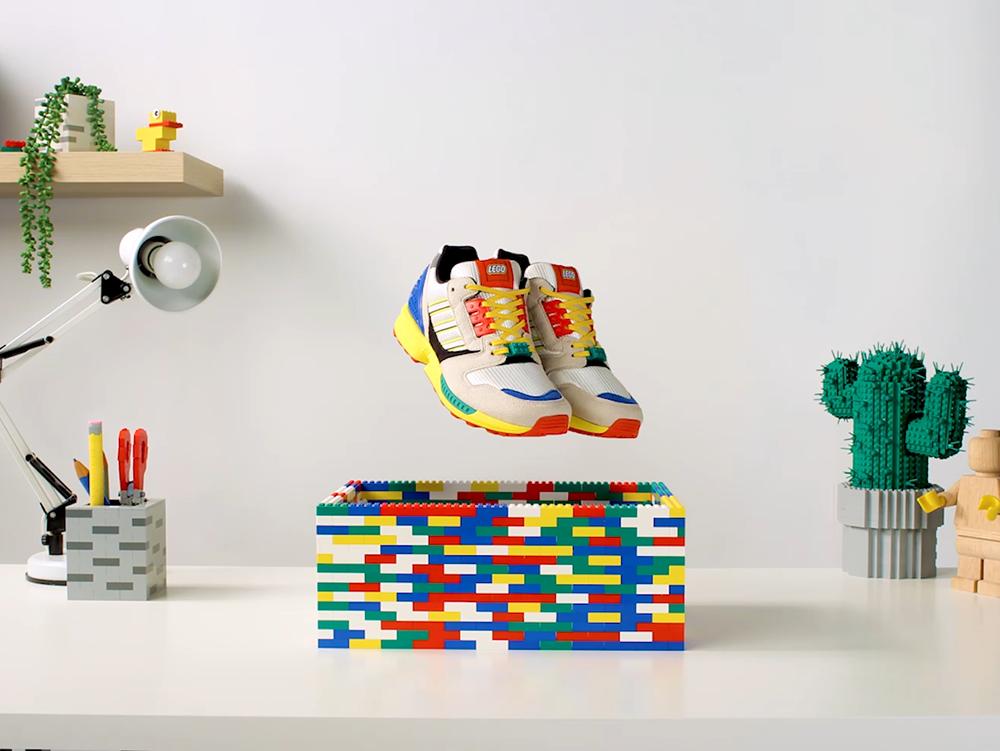 Lego y Adidas se unen para dar vida a una verdadera pieza de colección