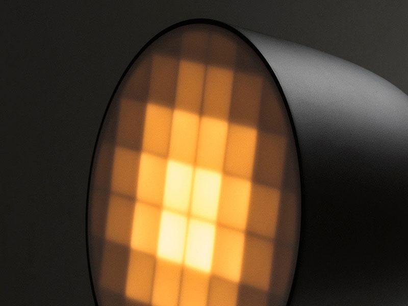 Pixel Light: la nueva lámpara de Nicholas Baker. Iluminación pixelada e impresión 3D