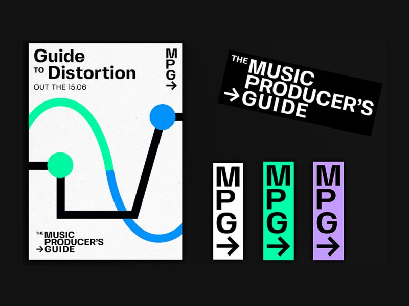 The Music Producer's Guide: diseño editorial de Francesco Battaglia