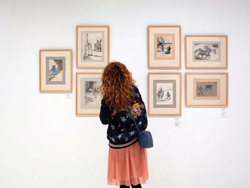 Toulouse-Lautrec en el Museo Carmen Thyssen Málaga