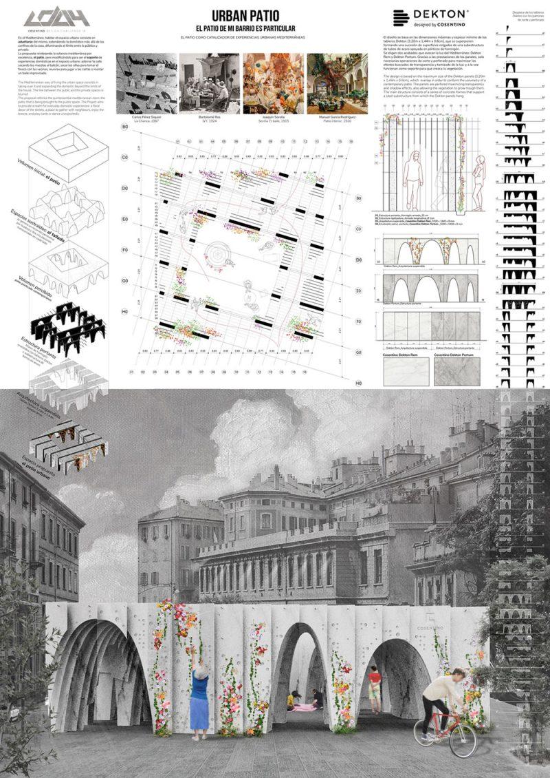 URBAN PATIO de Anna Burdeus Peirats (Escuela Técnica Superior de Arquitectura de Madrid, ETSAM, España).