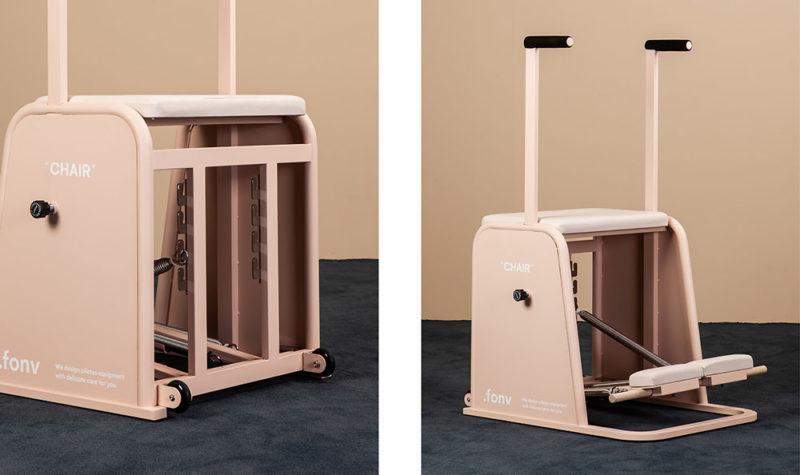 .fonv, equipamiento para pilates de S2victor. Ejercicios de diseño
