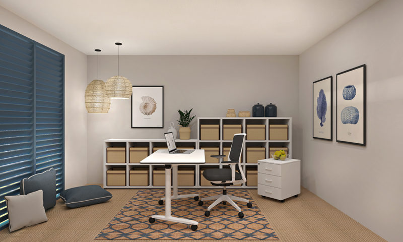 Home Office, cinco espacios para la inspiración. Prepárate para el teletrabajo