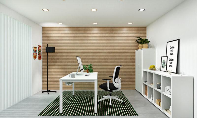 Estancia Moderna. Home Office, cinco espacios para la inspiración. Prepárate para el teletrabajo