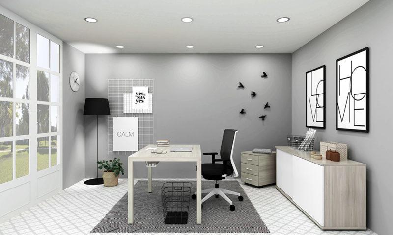 Estancia Nórdica. Home office, cinco espacios para la inspiración. Prepárate para el teletrabajo