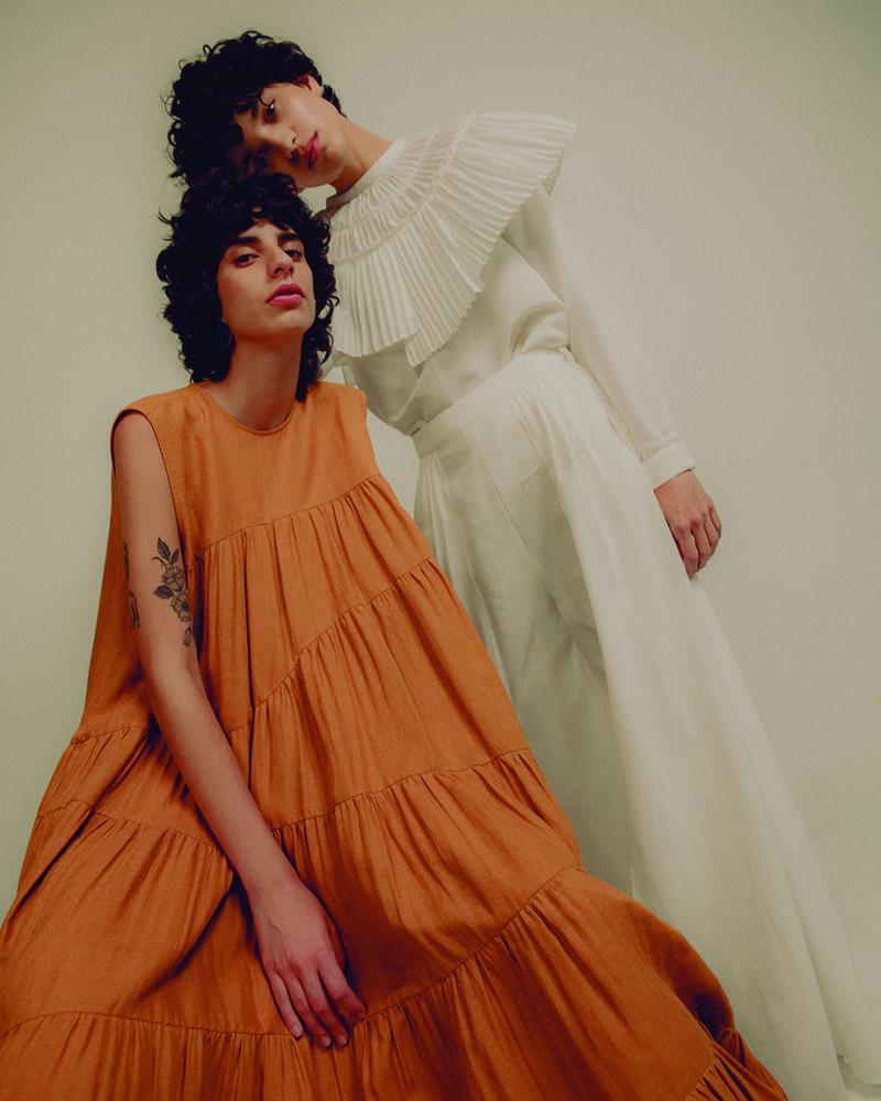 Diseño de moda: 002 Tierra, de Francisco Cancino Lara