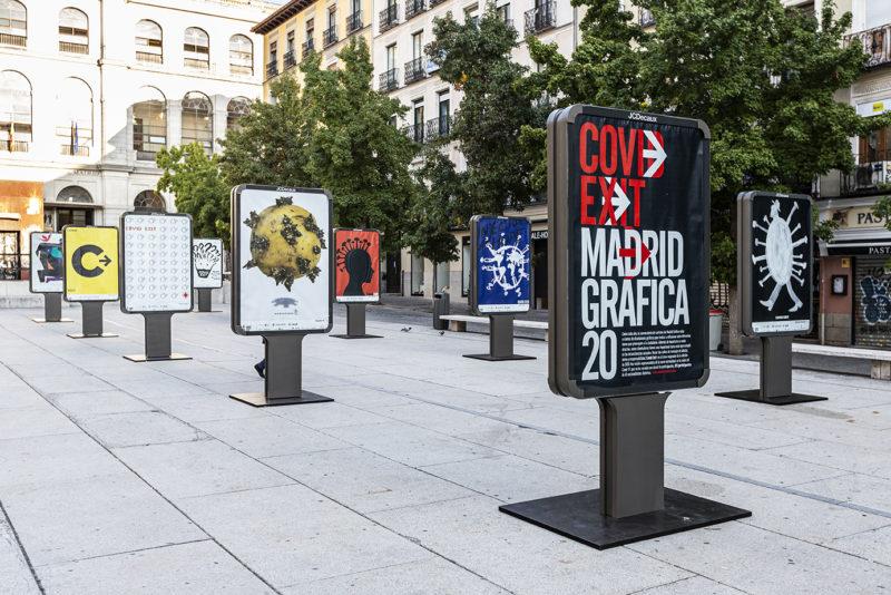 Ha dado comienzo la gran exposición de carteles Madrid Gráfica 2020