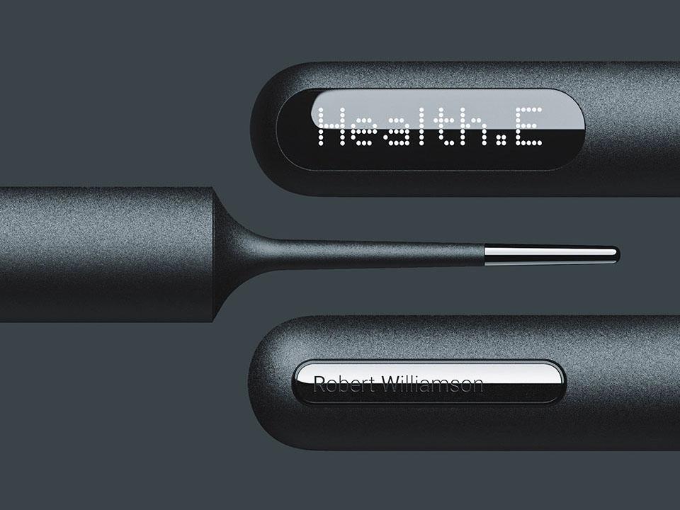Health-E, el termómetro inteligente de Roshan Hakkim