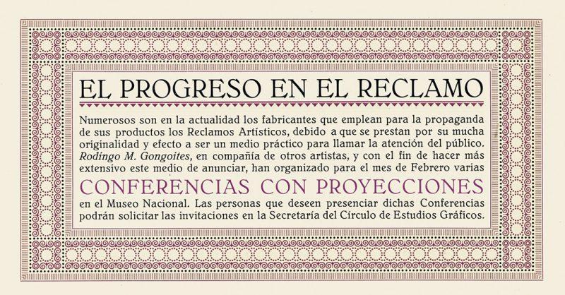 La columna de Eugenio Vega en Experimenta. Hoy: Orden y progreso