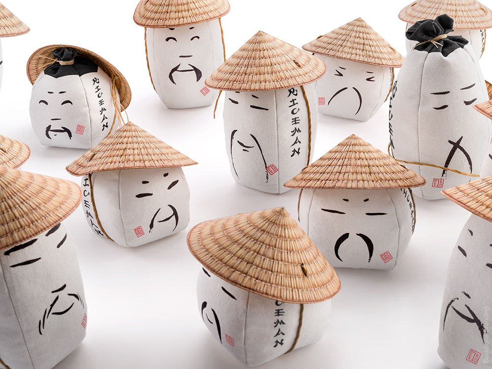 Backbone desarrolla el branding y el packaging de Riceman. Un arroz humano