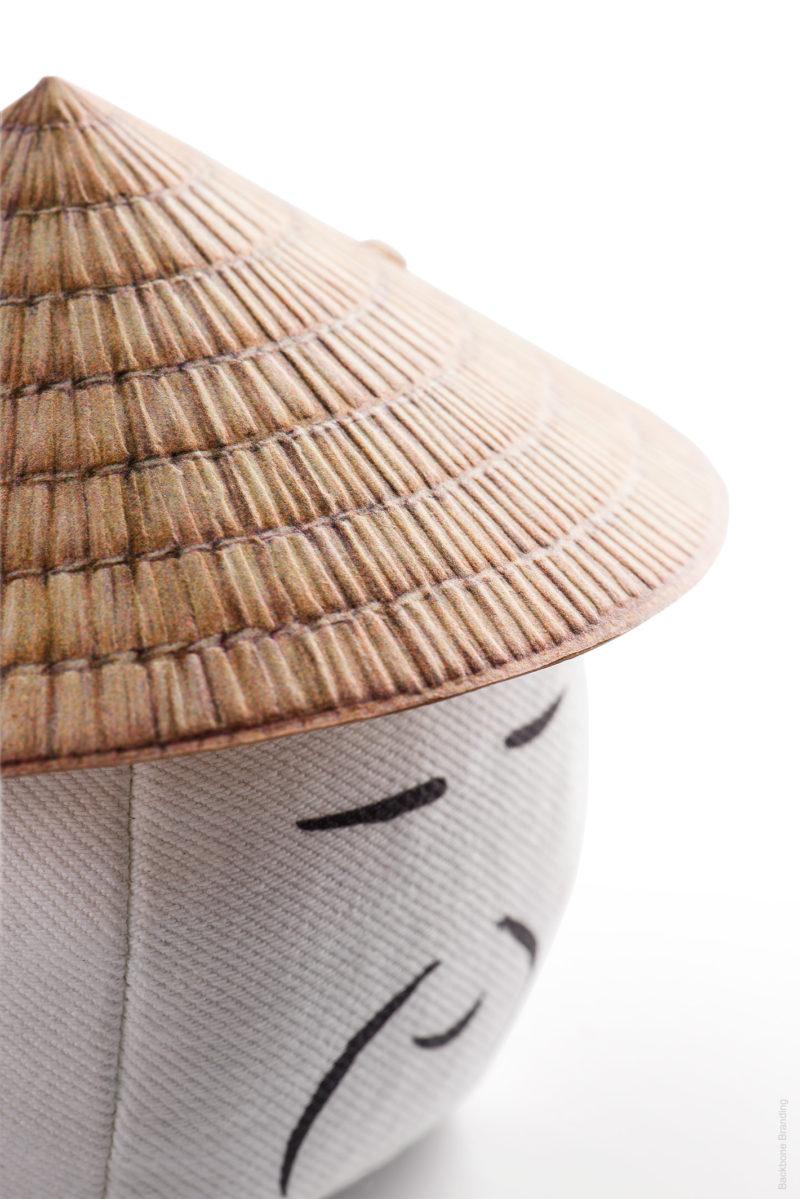 Riceman: branding y packaging Backbone.