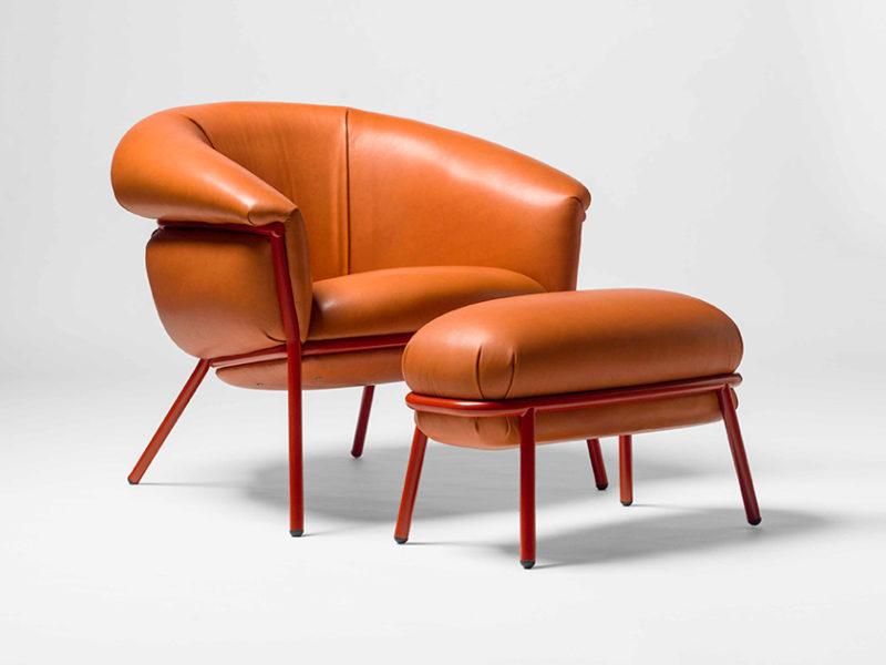 Delta de Oro categoría Equipamiento interior: Butaca Grasso, de Stephen Burks para BD Barcelona Design