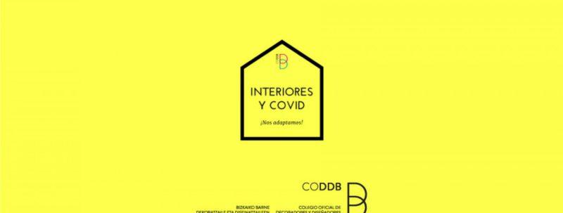 Lunes 23: Interiores y covid, ¡nos adaptamos! Conferencia online de 18:30 a 19:30 horas.