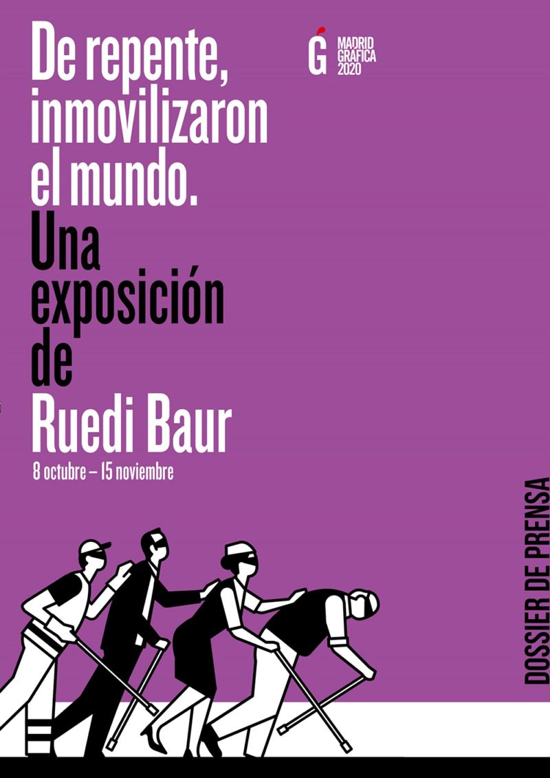 De repente, inmovilizaron el mundo. Exposición de Ruedi Baur en el MNAD