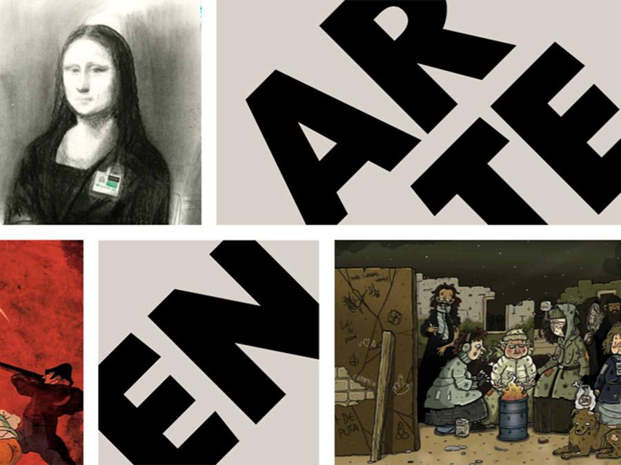 Fundación Telefónica y el Centro de Arte Alcobendas presentan El arte en el cómic