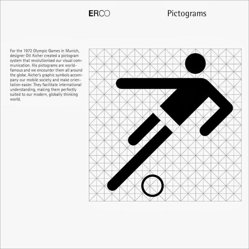 Gran retrospectiva internacional dedicada al diseñador gráfico alemán Otl Aicher