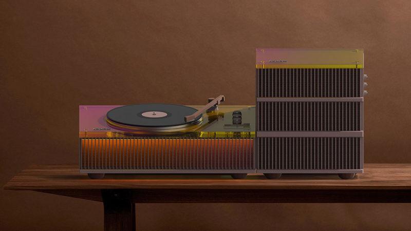 Old Future, el tocadiscos arquitectónico de Keonwoo Lee