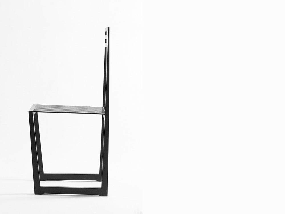 Peter Otto Vosding explora los limtes del minimalismo con su silla Mμ
