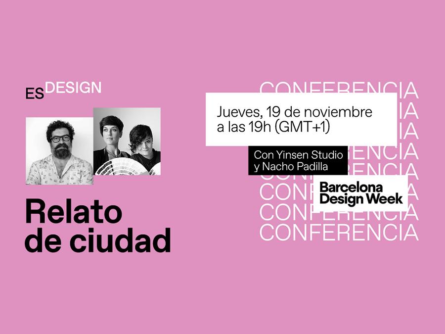 Relato de ciudad: conferencia online con Nacho Padilla, María Pradera y Lorena Sayavera