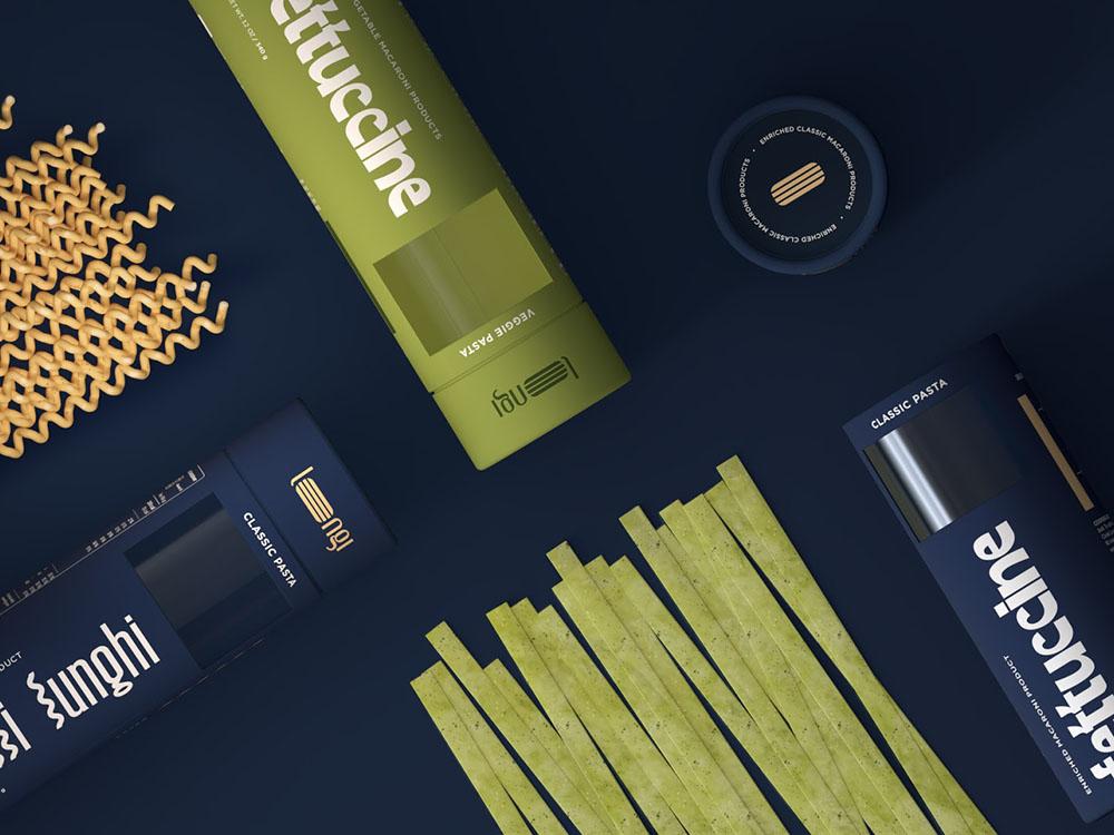 Volodymyr Shyika y Karina Shyika desarrollar el packaging de Longi