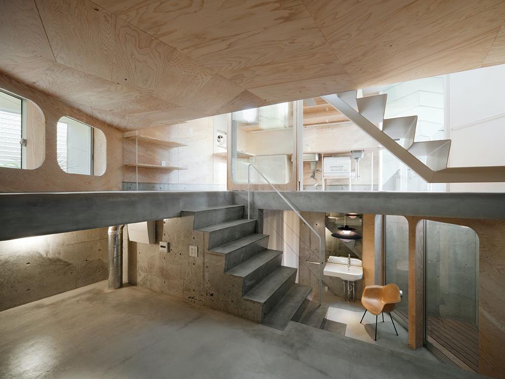 Yoshinori Sakano Architect enseña a optimizar los espacios en la Tsubomi House