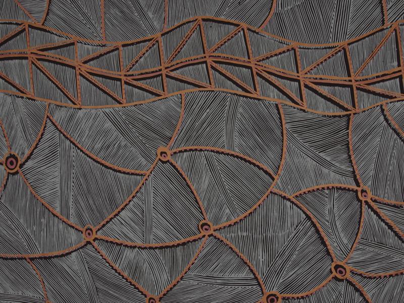 Arte textil de aborígenes australianos en el Museo Nacional de Antropología de Madrid