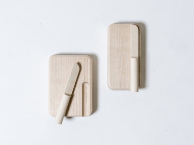 Butter Dish & Butter Knife, los utensilios de cocina de Studio Gorm
