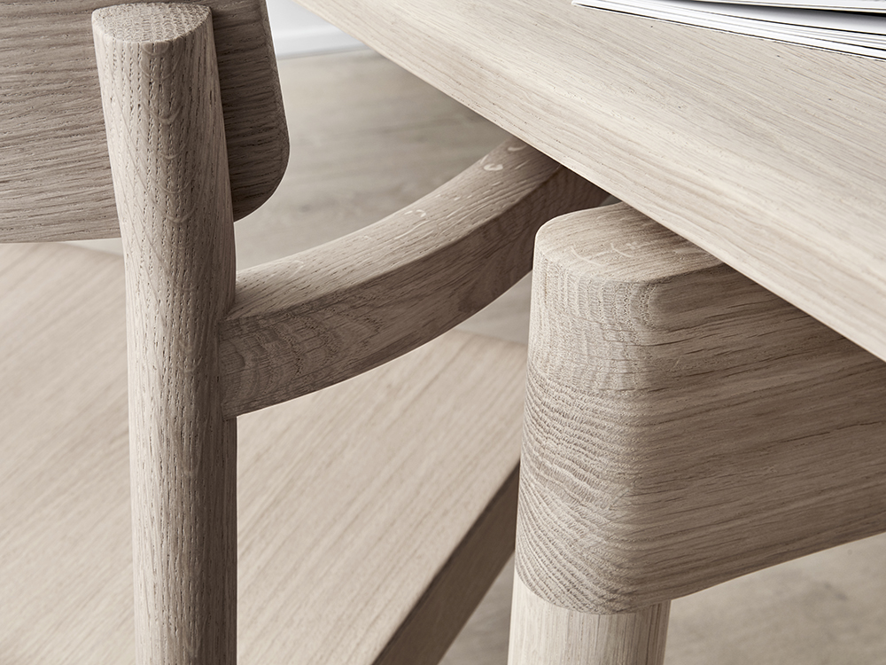 Cecilie Manz y la exaltación de la madera. Diseño de mobiliario nórdico