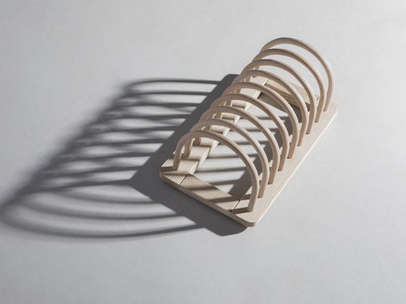 Dish Rack, el escurridor de platos de Studio Tolvanen