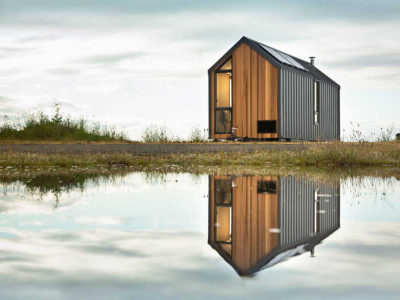Dwelling on Wheels: el refugio con ruedas de Modern Shed
