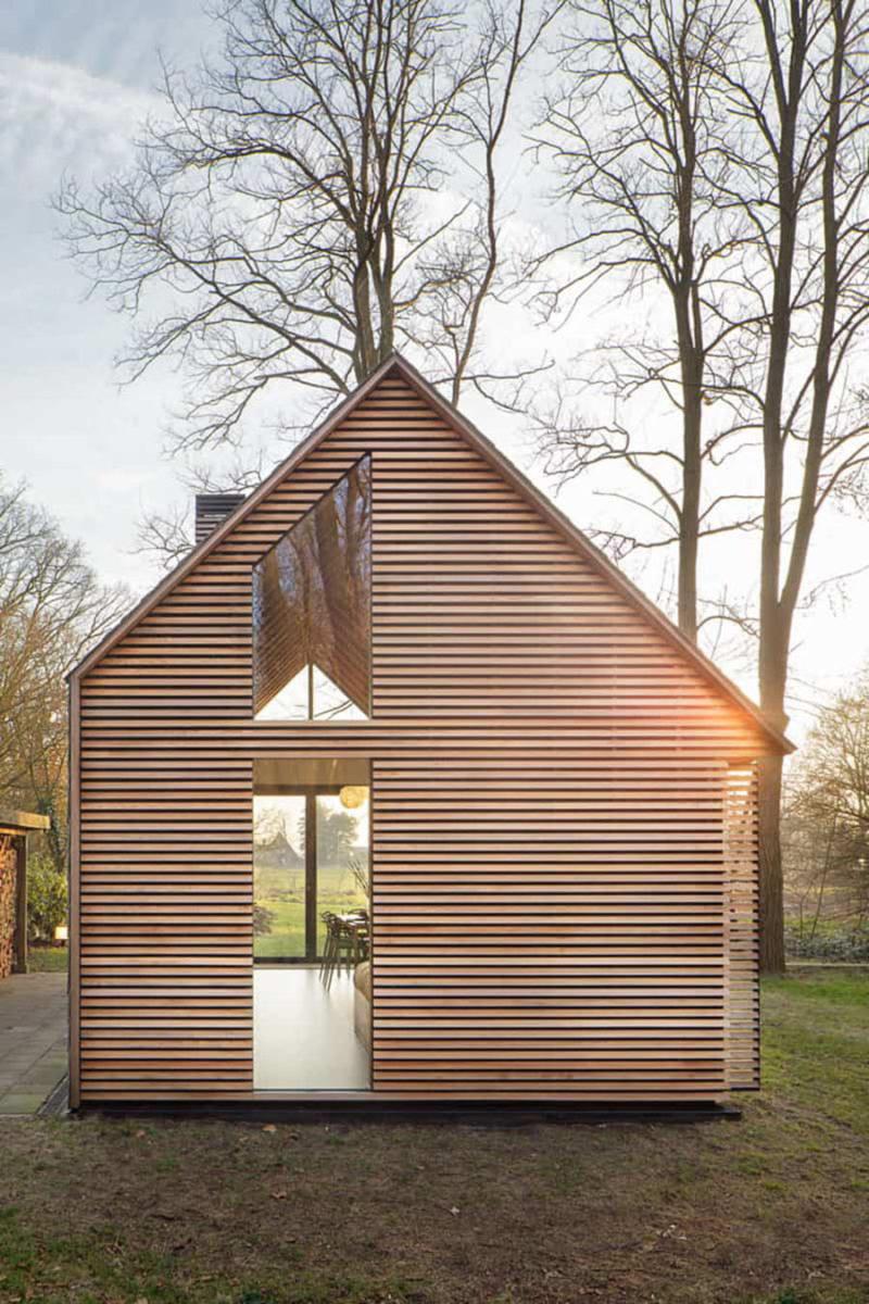 El caseta de jardín retráctil de Zecc © Stijn Poelstra