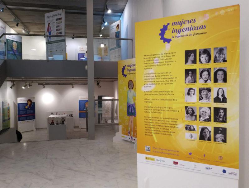 Exposición Mujeres Ingeniosas en el Ateneo de Madrid