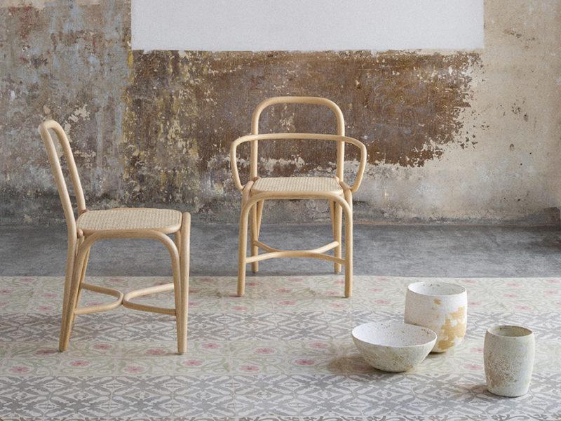 Fontal + Oscar Tusquets Blanca + Expormim = Buen diseño de mobiliario en rattan
