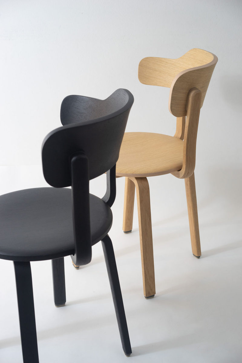 Hashtag: la silla asimétrica DIY de Yuue. Entre Taizhou y Berlín