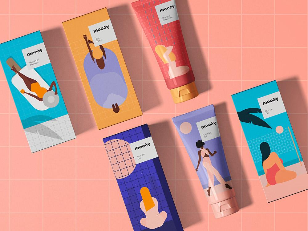 Los cosméticos ilustrados de Kirill Zaytsev y Ana Krasko. Efectivos e inclusivos