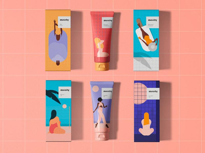Los cosméticos ilustrados de Kirill Zaytsev y Ana Krasko