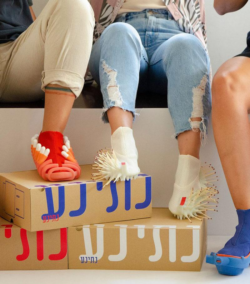 Netina, los calzados futuristas de Netha Goldberg
