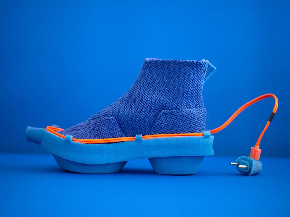Netina, los calzados futuristas de Netha Goldberg. Un ejercicio creativo, un experimento social