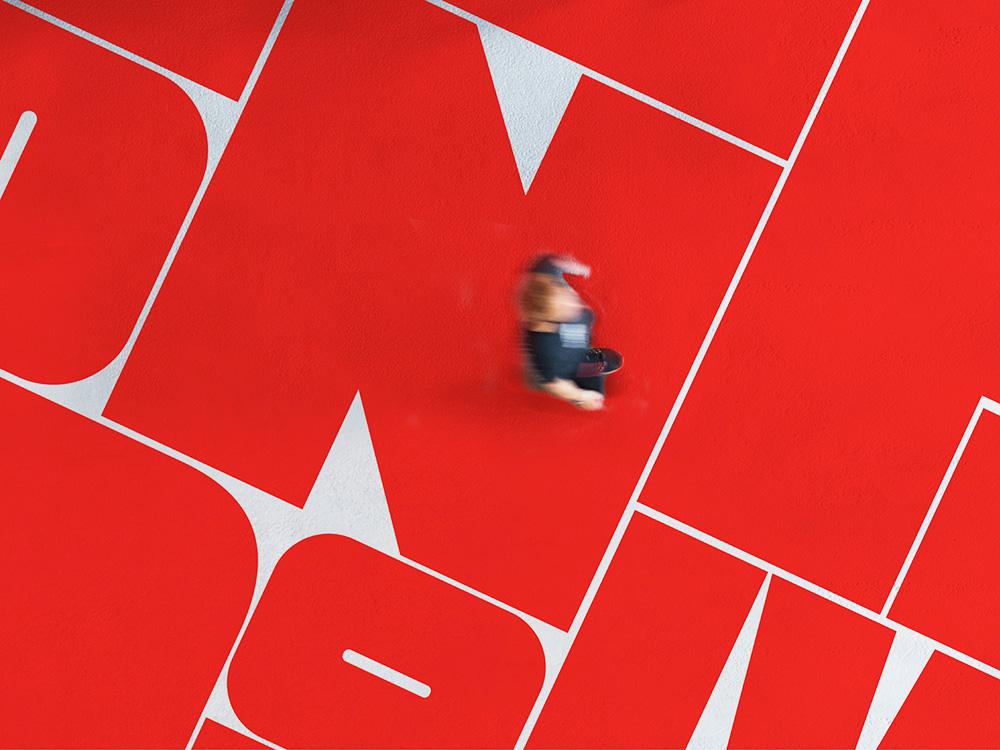 Pentagram diseña la identidad del London Design Festival. Juegos tipográficos de diseño