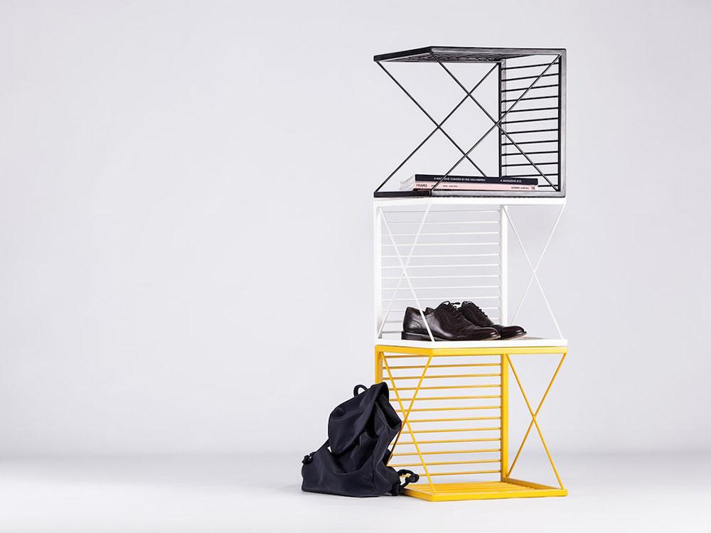 Stripe, los cubículos apilables de Natali Ristovska y Miki Stefanoski