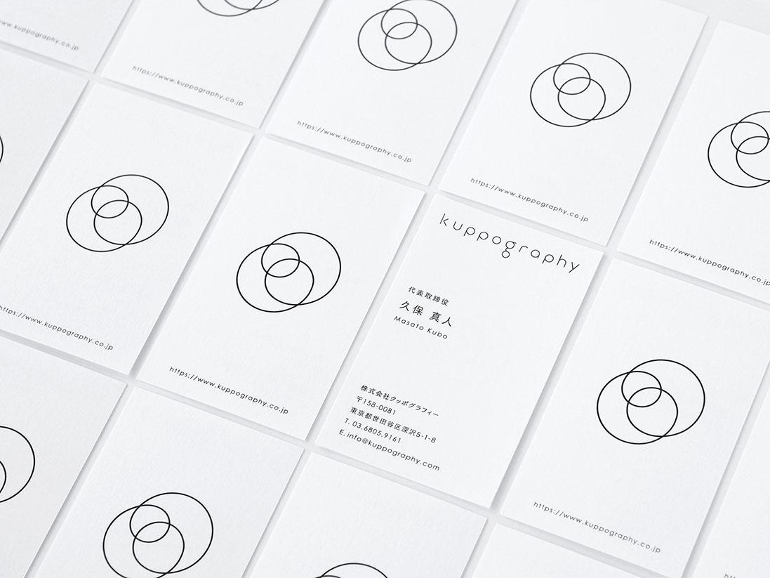 Tegusu desarrolla la identidad visual de Kuppography. Buen diseño nipón