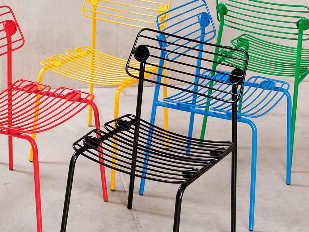 Cinco sillas para la inspiración: escultóricas, eficientes, divertidas,…todas diferentes, todas bien diseñadas