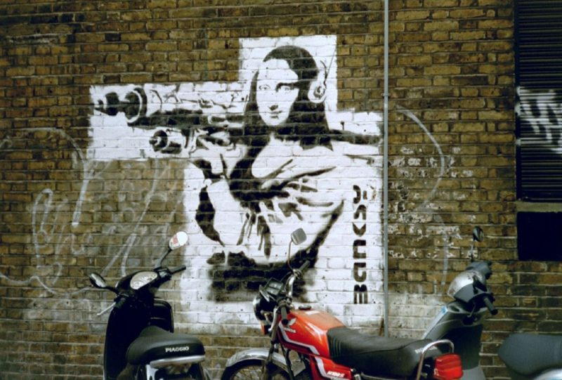 Banksy en el Círculo de Bellas Artes de Madrid