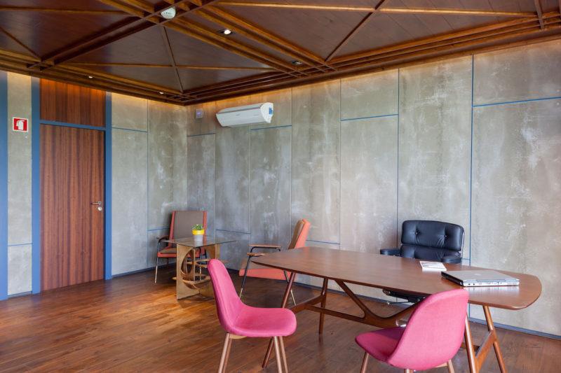 Clube 39, de Yaroslav Galant. Arquitectura deportiva de containers, paramétrica y de calidad